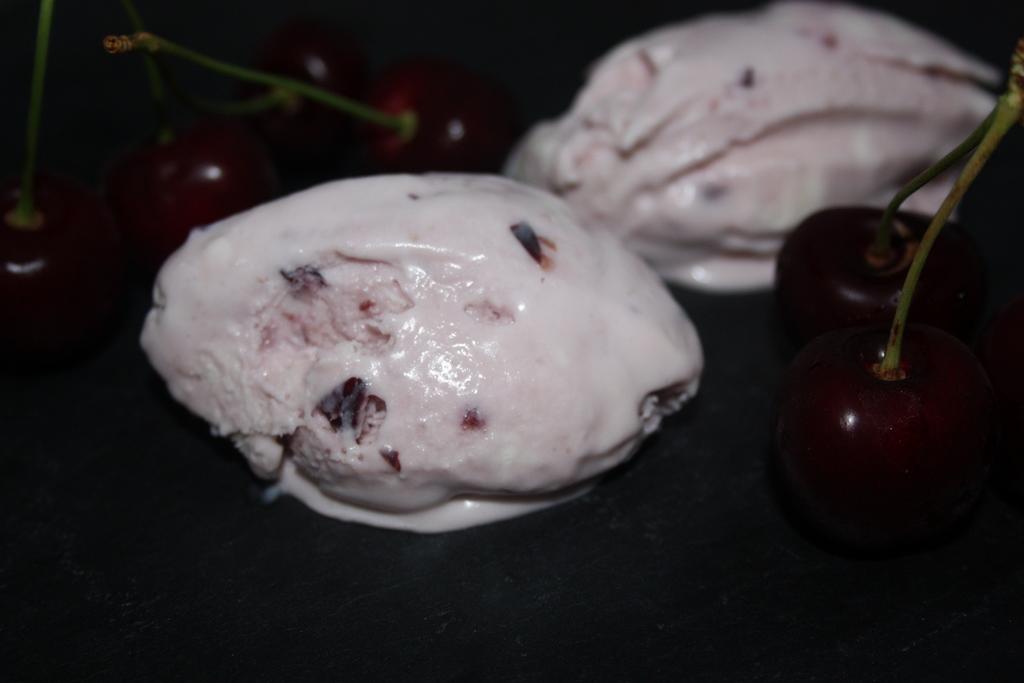 helado de cereza